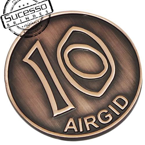 Moeda comemorativa, moeda personalizada, moeda em metal, moeda para premiação, moeda para comemoração, moeda religiosa, moeda para igreja, 10, argid