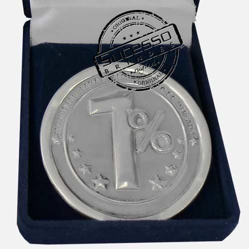 Moeda comemorativa, moeda personalizada, moeda em metal, moeda promocional, moeda prateada