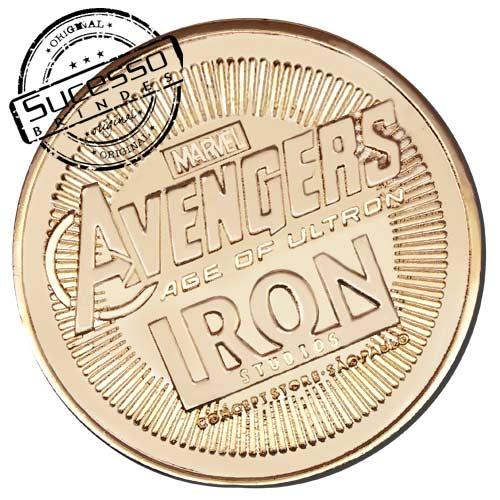Moeda comemorativa, moeda personalizada, moeda para premiação, moeda dourada