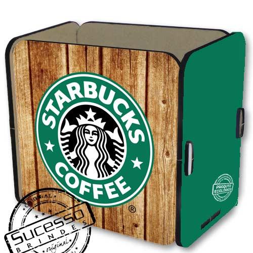 porta trecos, porta caneta, porta lápis, porta treco, starbucks, café