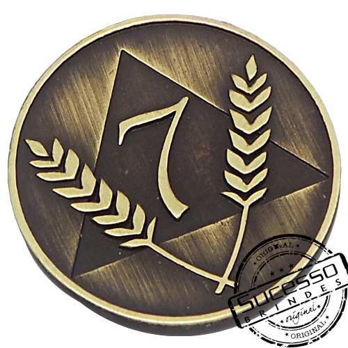 Moeda comemorativa, moeda personalizada, moeda em metal, moeda para premiação