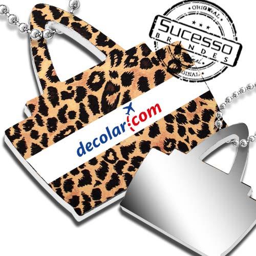 chaveiro bolsa, chaveiro bolsinha, chaveiro espelho, chaveiro para bolsa, chaveiro bolsa personalizada, chaveiro para mulher, chaveiro feminino tigre decolar