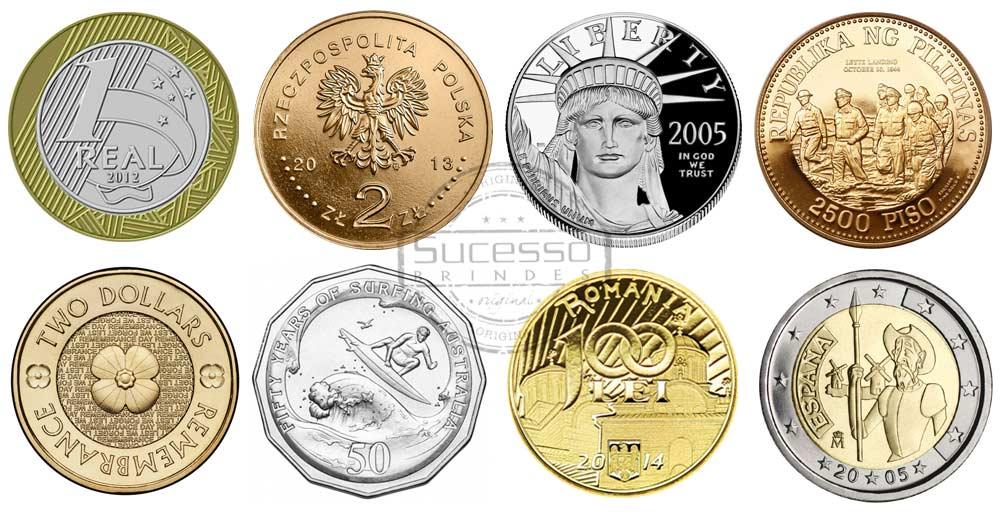 moedas-de-diversos-paises