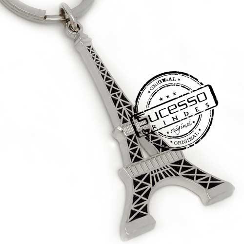 Chaveiro em metal viagem personalizado com seu logo, pises, turismo, Paris, Torre Eifel