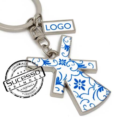 Chaveiro em metal viagem personalizado com seu logo, pises, turismo, Holanda, Moinho
