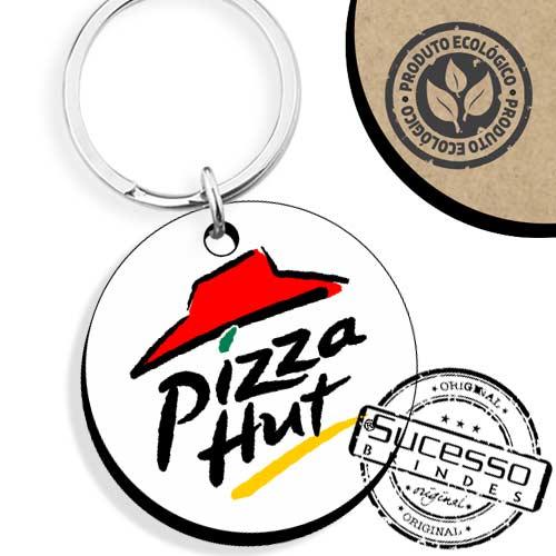 brinde ecológico, produto ecológico, brinde ecologicamente correto, Chaveiro fashion, brinde ecológico, chaveiro ecológico, chaveiro em madeira, chaveiro redondo, Pizza Hut