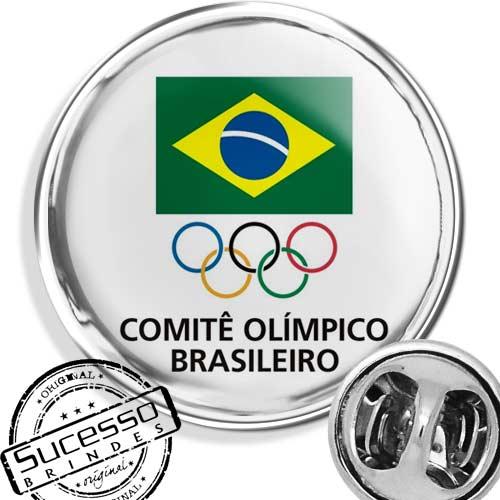 pin comitê olímpico brasileiro instituição prefeitura governo orgão