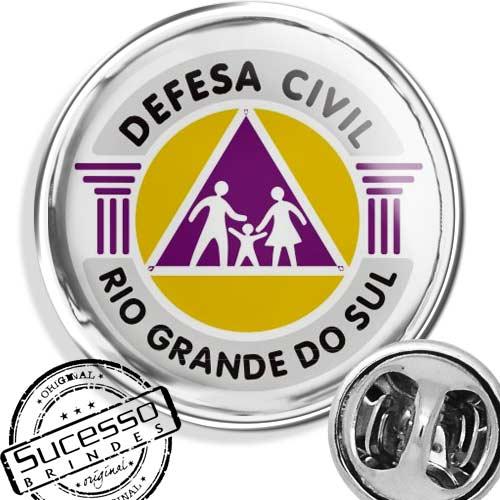pin defesa civil instituição prefeitura governo orgão