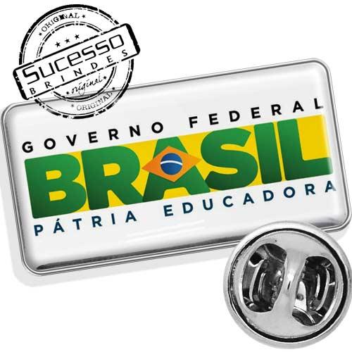 pin governo federal Brasil pátria educadora instituição prefeitura governo orgão