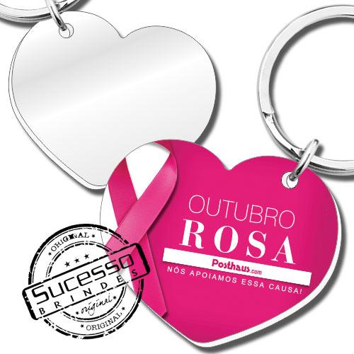 chaveiro com espelho, espelho, espelho para bolsa, brinde espelho, brinde com espelho, chaveiro em acrílico espelhado, chaveiro espelhinho, espelhinho para bolsa, coração, laço rosa, lacinho, outubro rosa