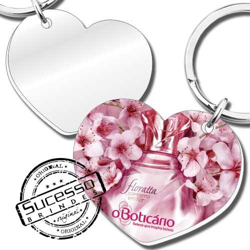 chaveiro com espelho, espelho, espelho para bolsa, brinde espelho, brinde com espelho, chaveiro em acrílico espelhado, chaveiro espelhinho, espelhinho para bolsa, coração, o boticario