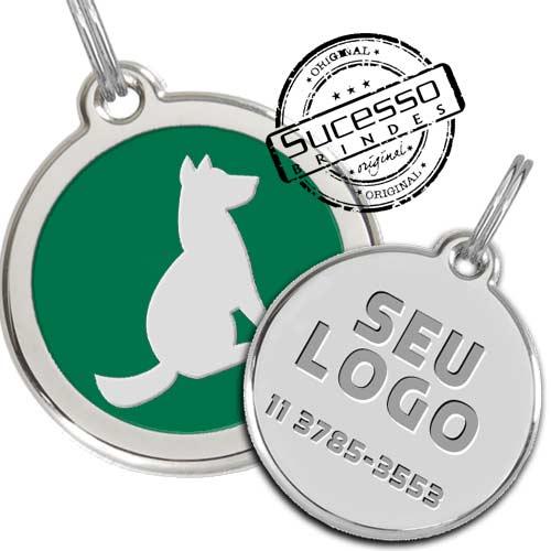 tag para identificação de cachorro, pingente para cachorro, tag id, dog tag, plaqueta para animais, identificador de cachorro, identificador de gato