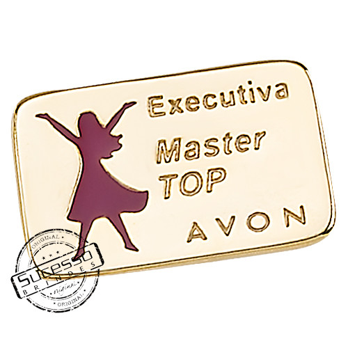 pin avon, broche avon, pin executiva avon