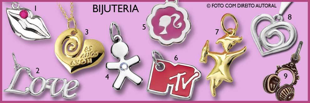bijuteria em metal pingentes personalizados