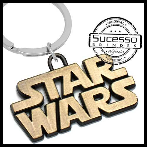 chaveiro-em-metal-personalizado-brinde-para-cinema-filme-nave-espacial-Star-Wars-logo