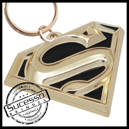 chaveiro-em-metal-personalizado-brinde-para-cinema-filme-super-man-super-homem-dourado