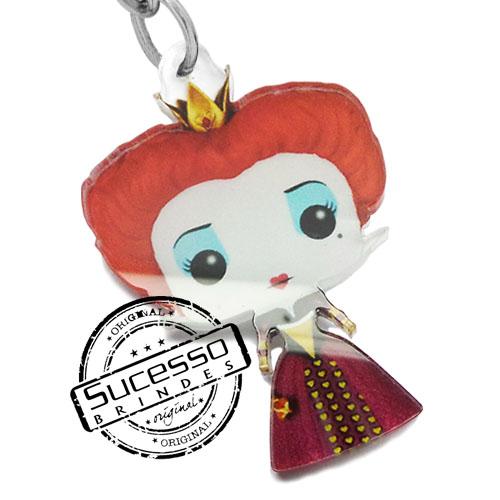 chaveiro personagem, chaveiro mascote, pingente personagem, pingente mascote, chaveiro boneco, chaveiro boneca, chaveiro rainha vermelha, chaveiro cinema chaveiro desenho, chaveiro filme, chaveiro, chaveiro rainha vermelha