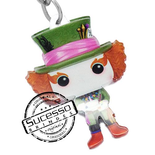 chaveiro personagem, chaveiro mascote, pingente personagem, pingente mascote, chaveiro boneco, chaveiro boneca, chaveiro rainha vermelha, chaveiro cinema chaveiro desenho, chaveiro filme, chaveiro, chaveiro chapeleiro maluco