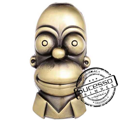 1706--miniatura-simpsons-homer-estatua-estatueta-rosto-em-metal
