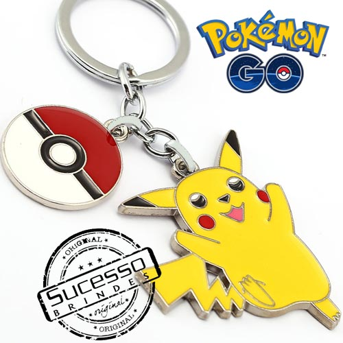 chaveiro pokemon go, pokemon go, pokemon ball, pokeball, poke bola, game, jogo, pikachu