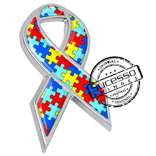 a consciência, pin autista, pin do autismo, pin câncer, broche novembro azul, broche outubro rosa, broche maio amarelo, laço, lacinho, conscientização, consciencia, autismo, autista