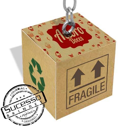 caveiro cubo, chaveiro quadrado, chaveiro dado, chaveiro 3d, chaveiro ecológico, chaveiro personalizado, chaveiro sustentável, doce, caixa, caixa de papelão, box
