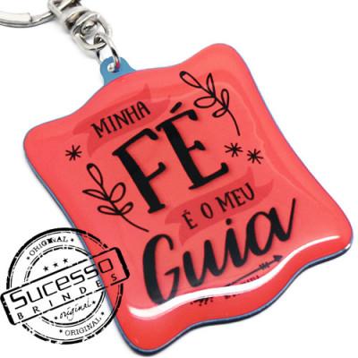 CHAVEIRO EM ACRÍLICO FASHION