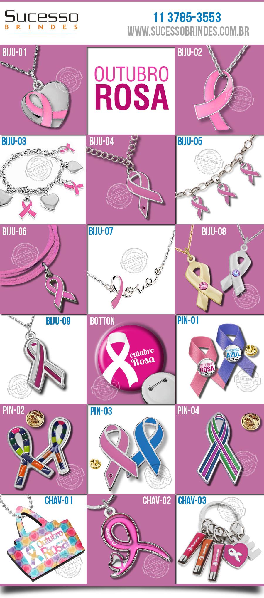 laço cancer outubro rosa