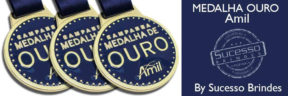 medalha-ouro-amil-personalizada-em-metal-com-resina-azul
