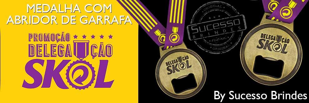 Medalha campeão com abridor de garrafa, produto personalizado promocional