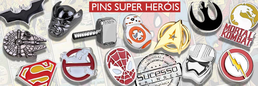pins personalizados em metal marvel super herois, broche personagens