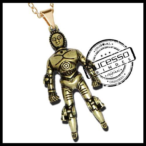 1967-pingente-robo-star-wars-C-3PO-guerra-nas-estrelas-filme-cinema