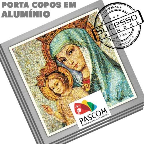 2511-Porta-Copos-em-Aluminio-Sucesso-Brindes-Religioso-Igreja-Santo