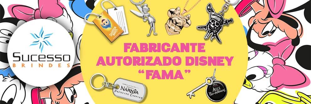 FABRICANTE AUTORIZADO PARA FORNECIMENTO DE PRODUTOS DA DISNEY NO BRASIL SUCESSO BRINDES