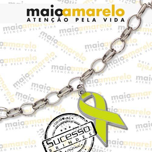 freeshop-1155-laço-cordão-corrente-pulseira-pingente-cancer-outubro
