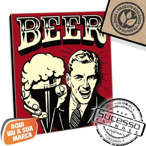 Placa em mdf, placa ecológica, produto ecológico, brinde ecológico, placa para parede, mini quadro, quadro, quadrinho, ecológica, bar, restaurante, cerveja, beer, ambeve