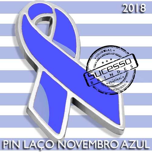 Broche novembro azul
