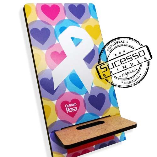 Porta Celular Amor pela Vida, brinde inovador para campanha do laço.