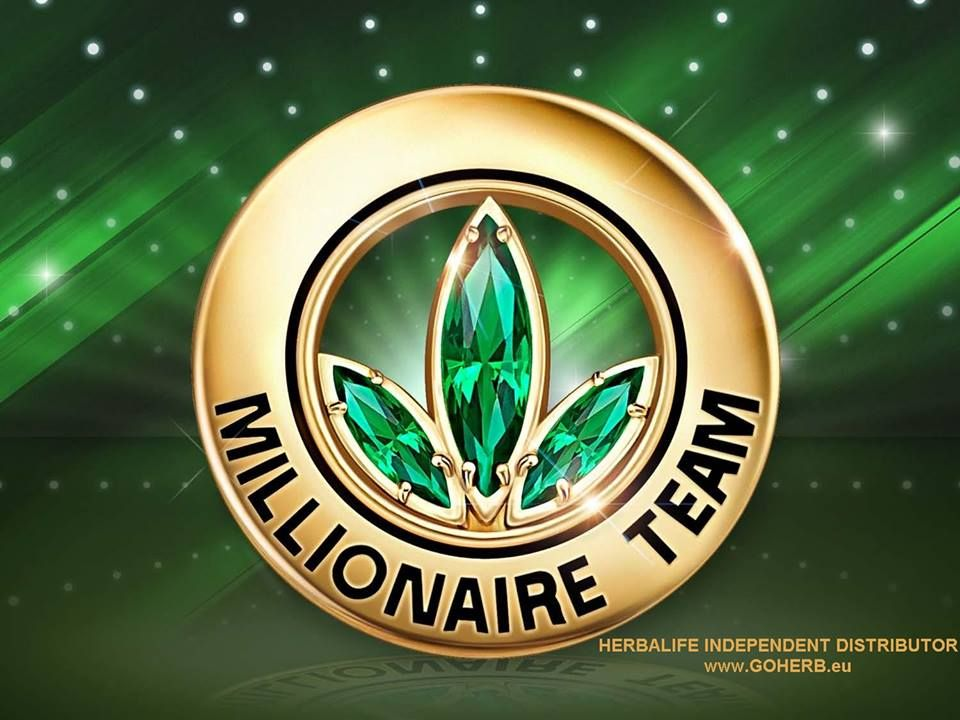 PINS HERBALIFE MILIONAIRE TEAM