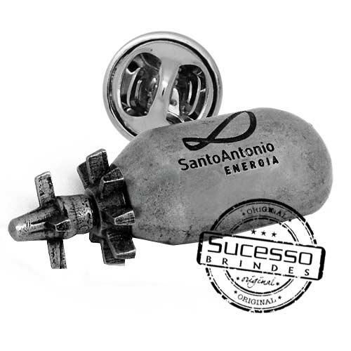 2232-pin-personalizado-com-relevo-3D-bomba-usina-eleticidade
