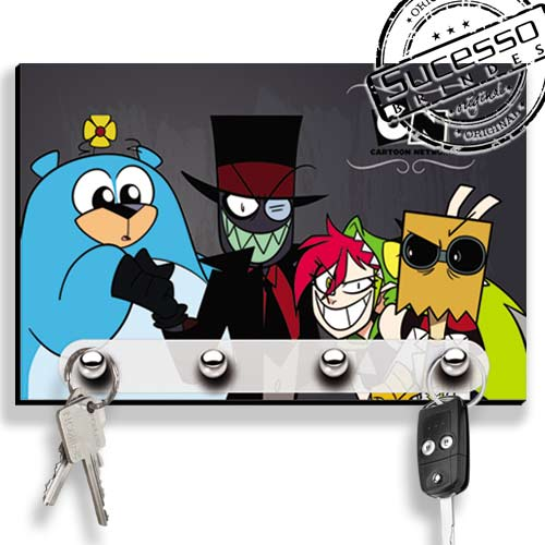 Porta Chave, brinde inovador, brinde novidade, porta chaves, cartoon Network, desenho