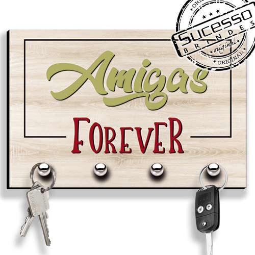 Porta Chave, brinde inovador, brinde novidade, porta chaves, amiga, forever