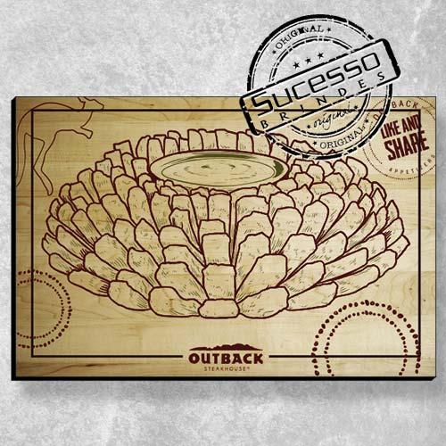 A Sucesso Brindes fabrica placas personalizadas, placa de madeira, placa de mdf, placa em mdf, placas personalizadas ou quadros personalizados para campanhas promocionais ou ação de marketing, outback, restaurante.