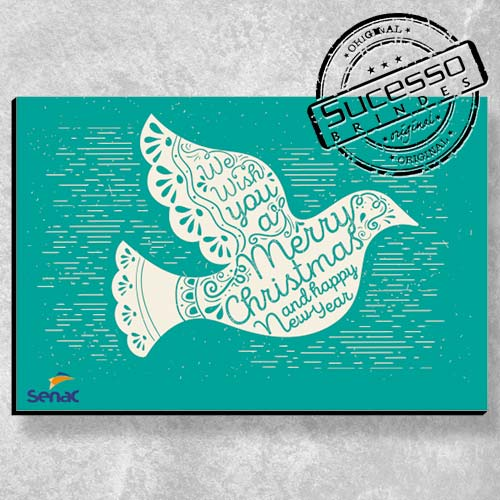 Placa decorativa personalizada - Senac
