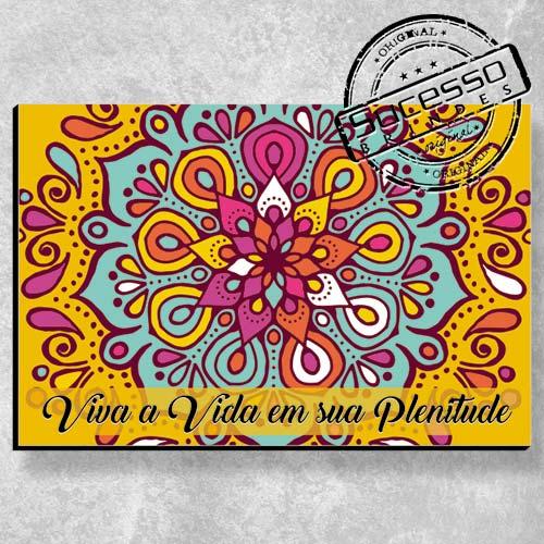 Placa Personalizada com a sua arte - Mandala