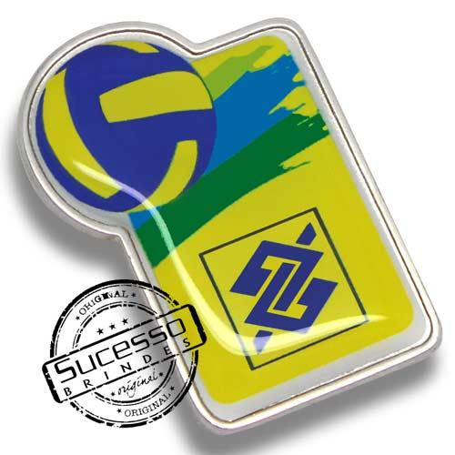 Pin personalizado Banco do Brasil