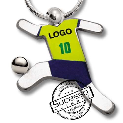 chaveiro jogador, jogador de futebol, chaveiro para copa, copa do mundo, brasil, futebol