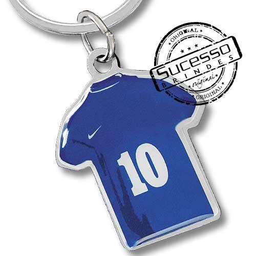 chaveiro futebol, futebol, uniforme, brasil, jogador, copa, copa do mundo, brinde para copa