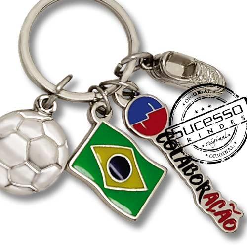 utebol, copa do mundo, brinde para copa, brinde para futebol, chaveiro futebol, brasil, bandeira, bola, chuteira.