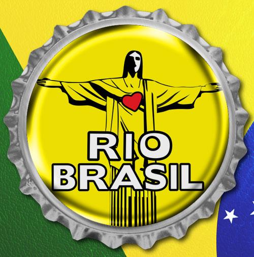 Pin personalizado para copa do mundo Brasil